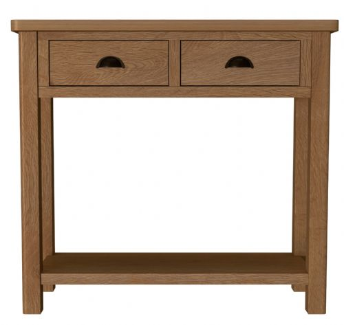 Richmond Rustic Oak Console Table